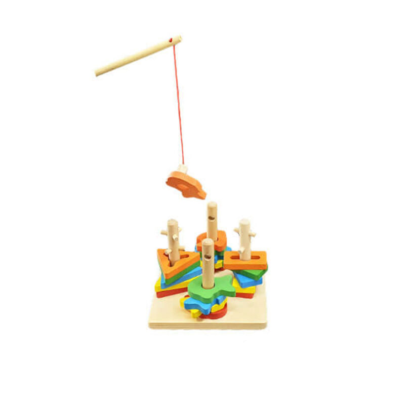 اسباب بازی جانمایی اشکال با ماهیگیری