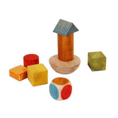 قطعات تشکیل دهنده بازی برج تعادل سپتا