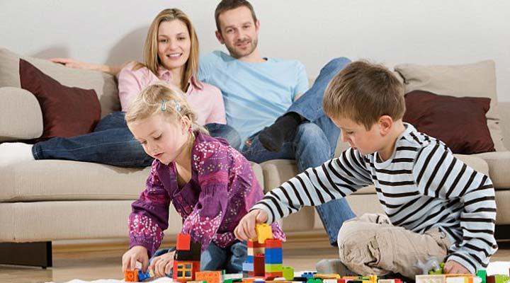 شخصیت کودک شما در محیط خانه شکل می گیرد