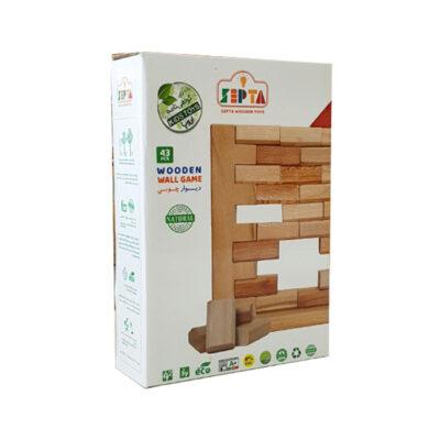 بسته بازی دیوار چوبی سپتا