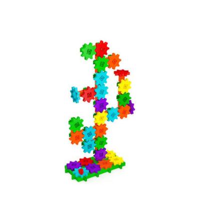 الگوی ساخته شده از بازی فکری گیربکس ۶۰ قطعه