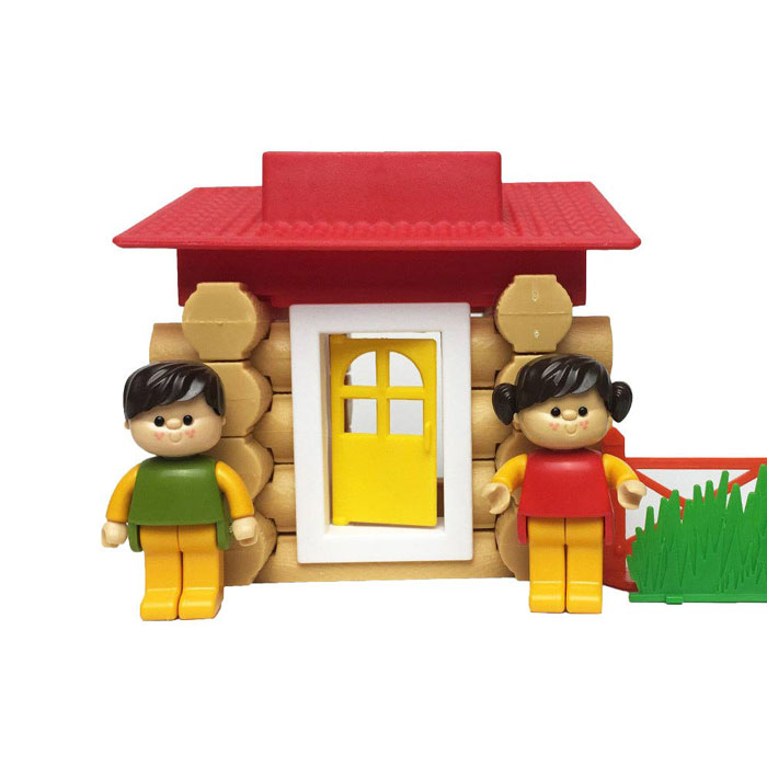 اسباب بازی ساختنی کلبه جنگلی ۱۷۷ قطعه