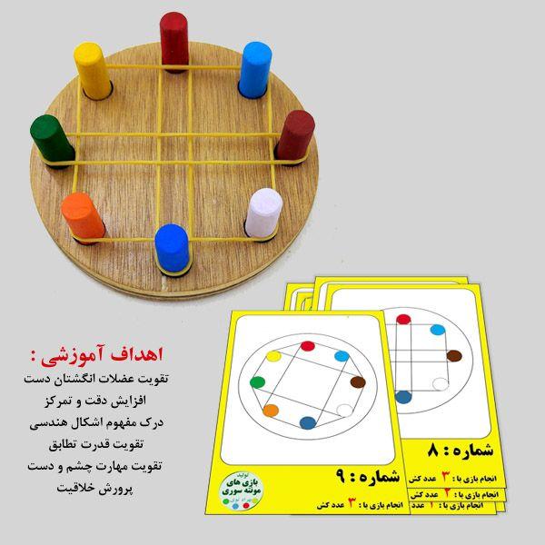اهداف آموزشی اسباب بازی شکل کشی