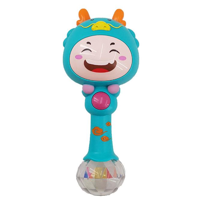 جغجغه نوزادی هولا آبی