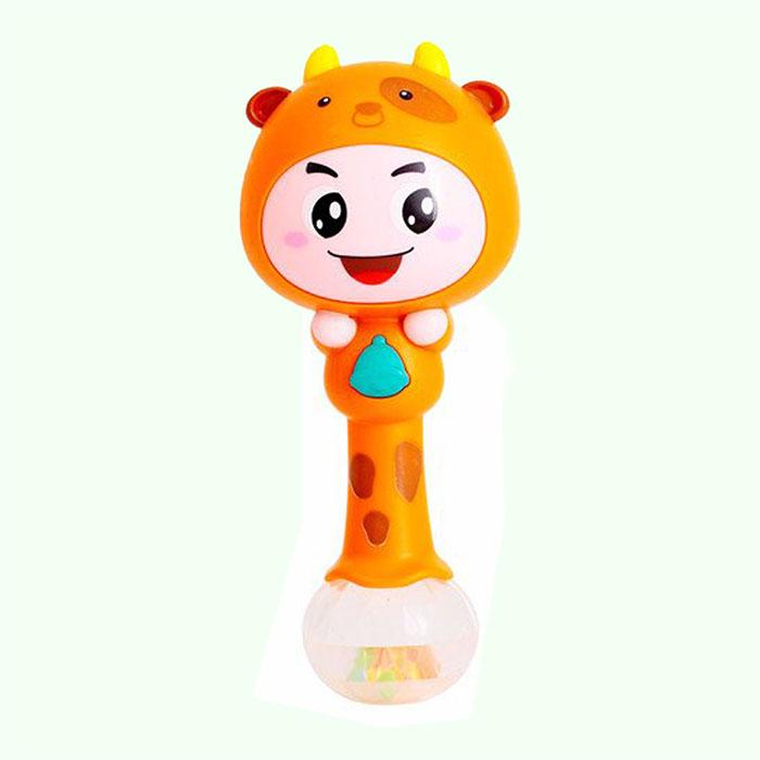 جغجغه نوزادی هولا نارنجی