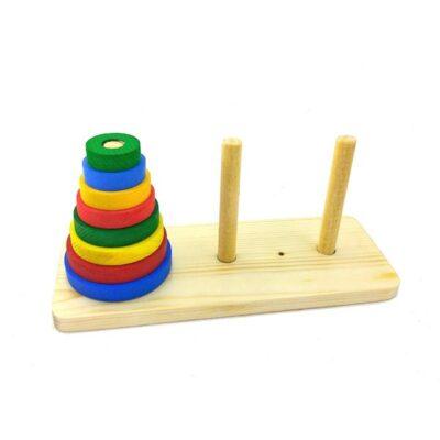 اسباب بازی چوبی برج هانوی