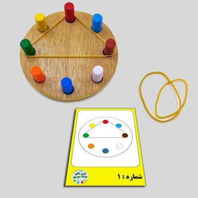 اقلام همراه اسباب بازی شکل کشی